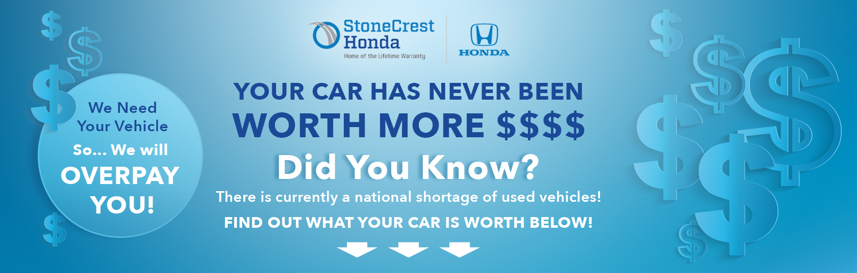 find the value of your car here